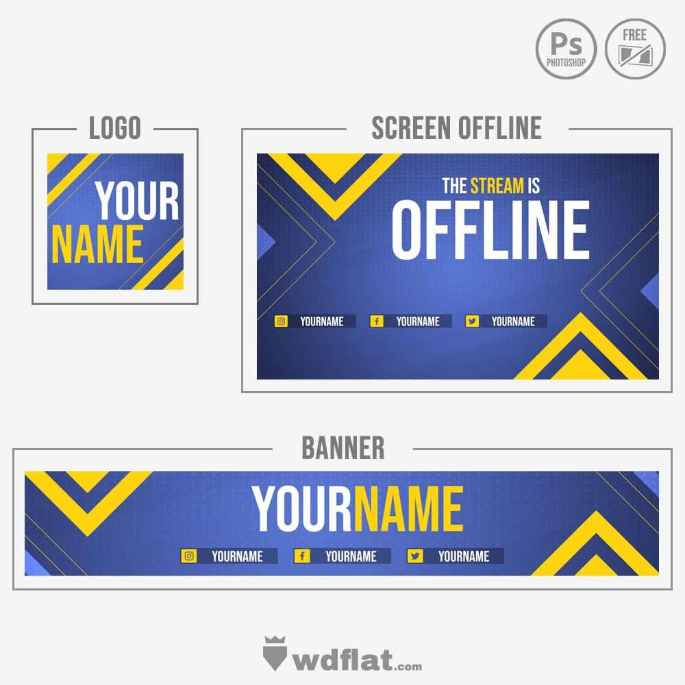 Betrayer banner logo and offline redesign