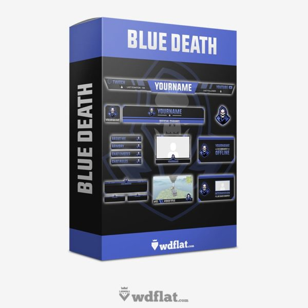 Blue Death – Box