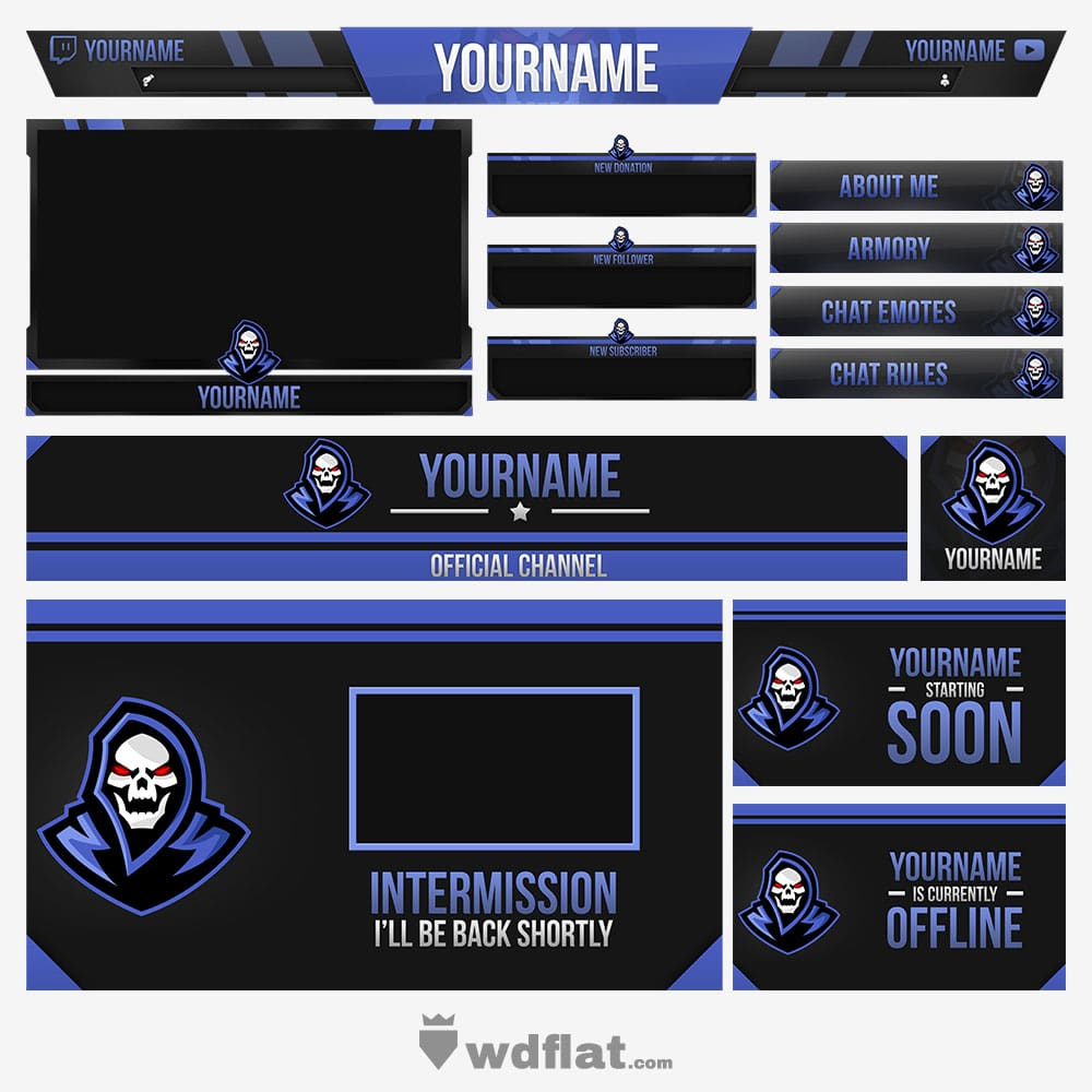 Blue-Death Stream Pack