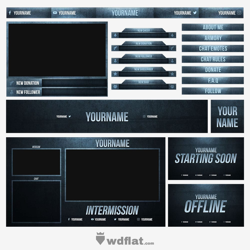 Blue-Eroded Stream Pack