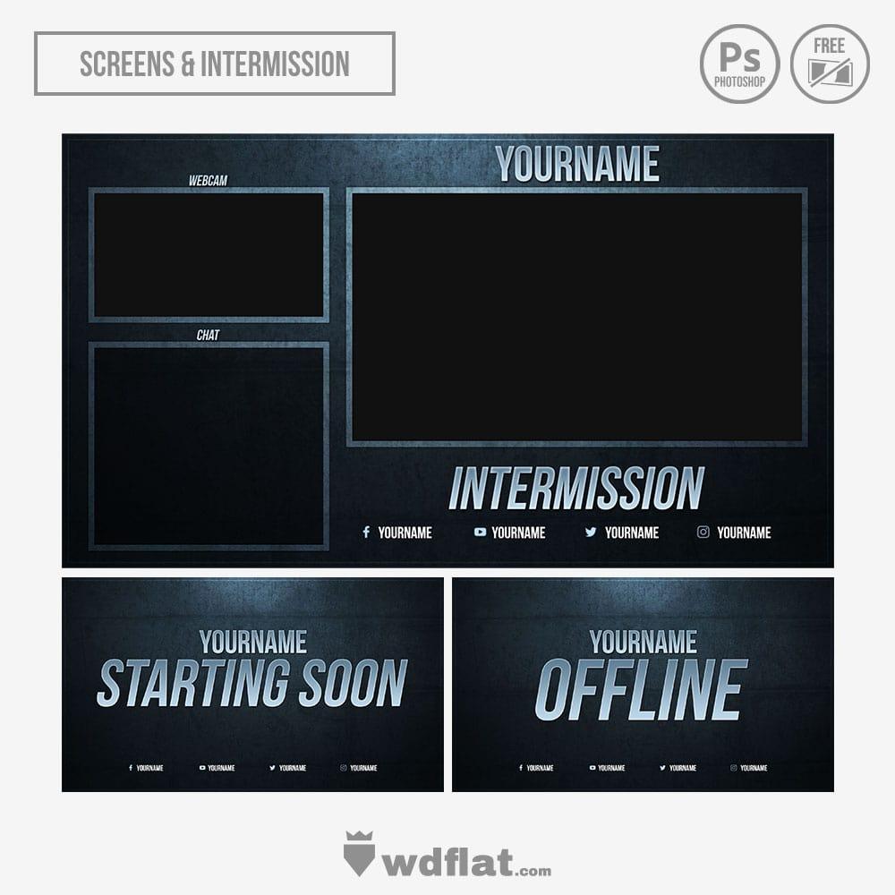 Blue-Eroded Stream Screens
