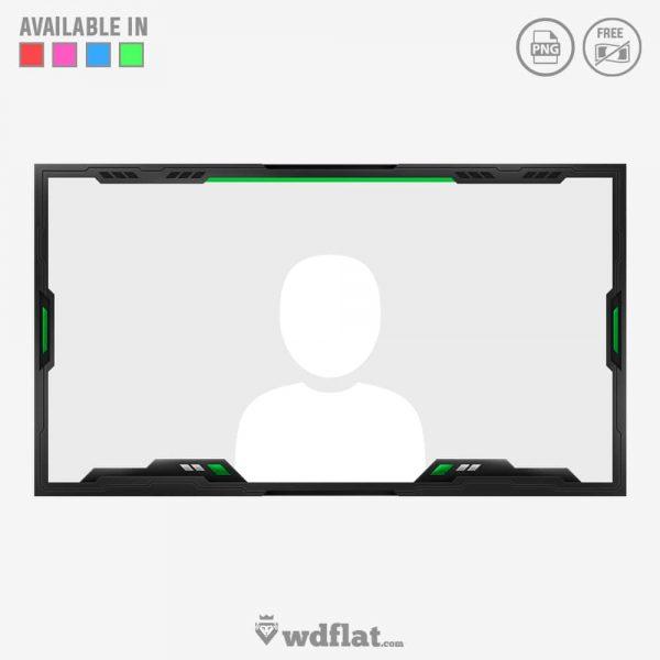 Brutal Knapsack – twitch facecam template