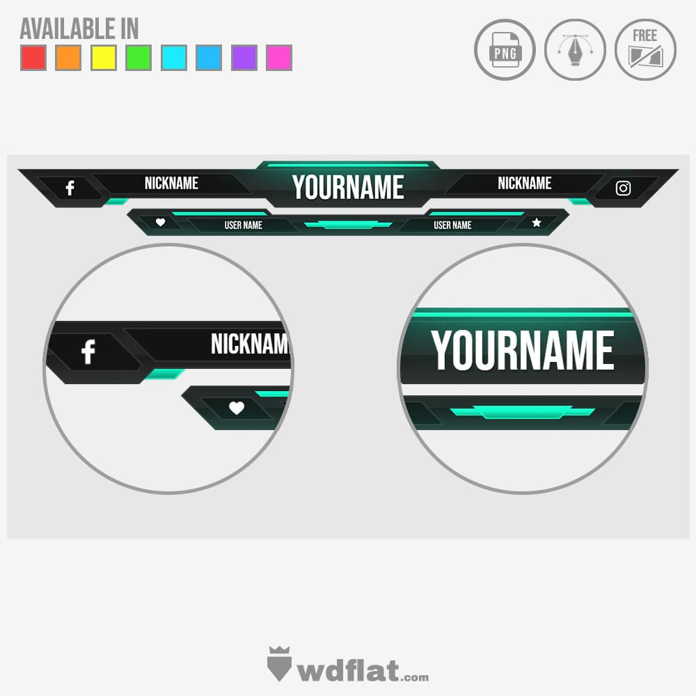 Clarity - design for streaming template