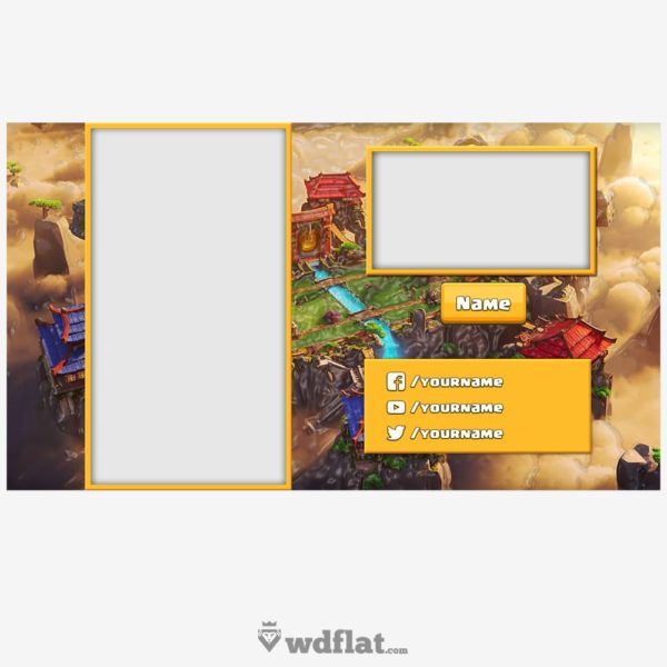 Clash Royale Overlay – preview