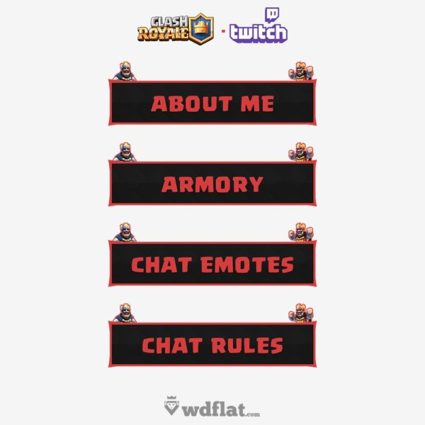 Clash Royale – preview Twitch Panels