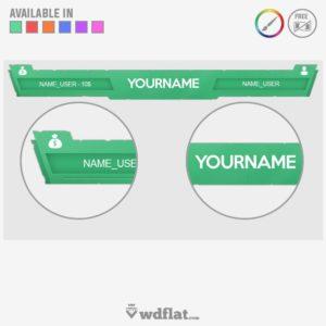 Color Eroded - overlay edit online