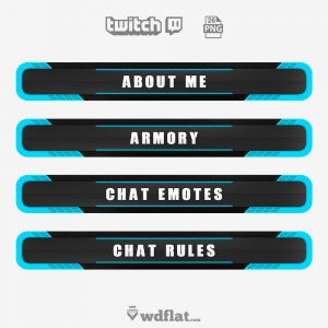 Corrupted - twitch panels png