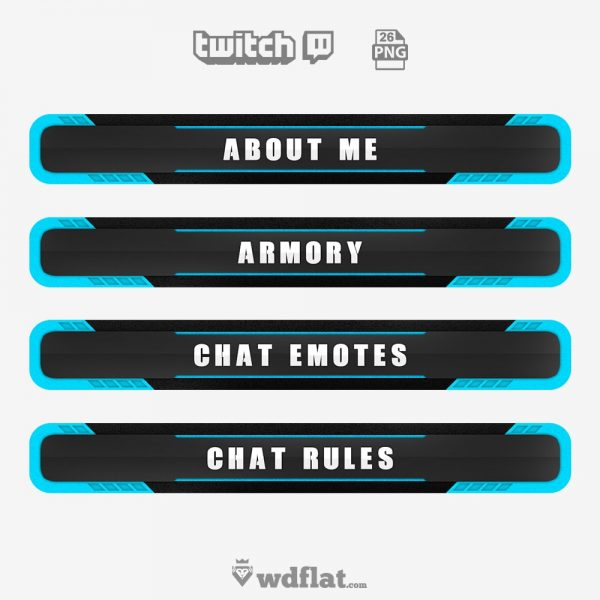 Corrupted – twitch panels png