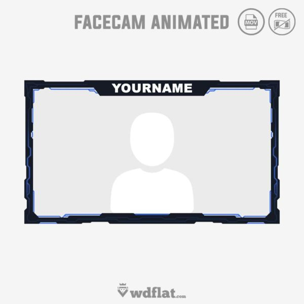 Cyber Animated – facecam live