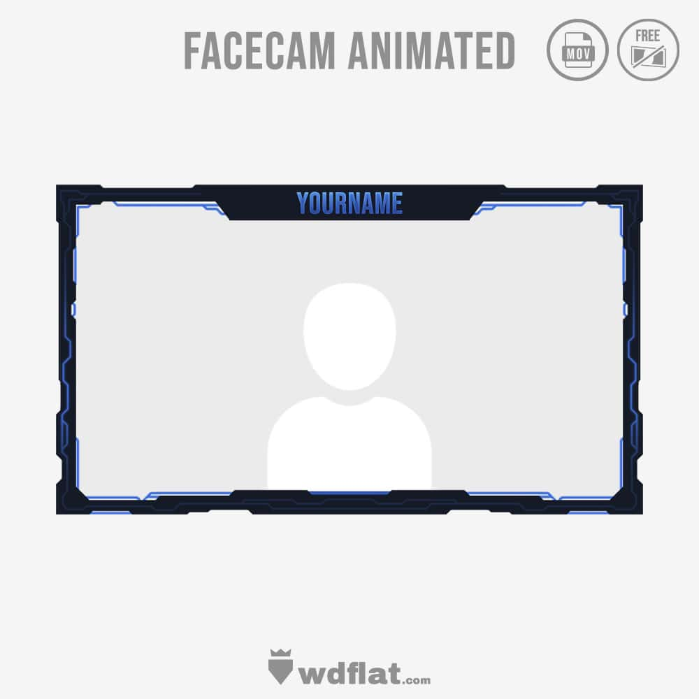 Cyber Animated - facecam livestreaming