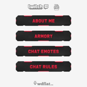 Darkbox - twitch panels