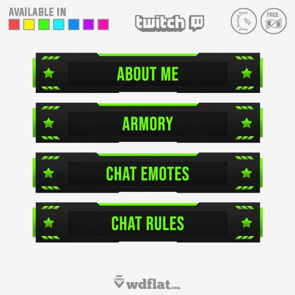 Delusion – twitch panels editor online