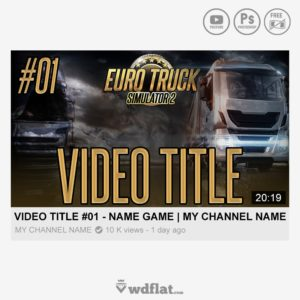 ETS2 - Series - thumbnail template