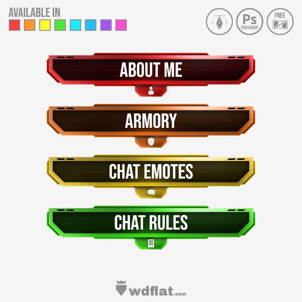 Echo panels design template