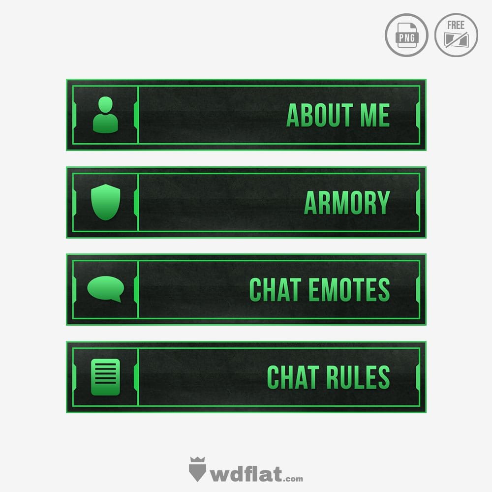 Enigma Green - twitch panels