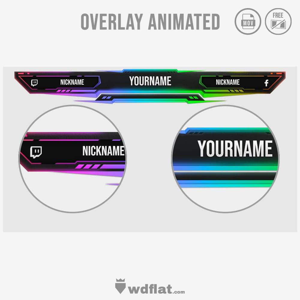 Envenom-overlay-animated-livestreaming