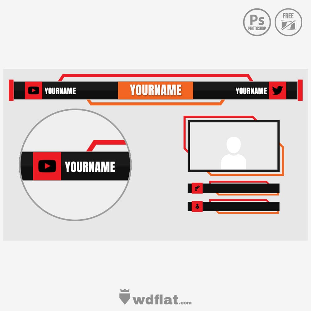 Evorek design for streamers