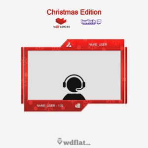 Facecam - Christmas Edition - preview Twitch
