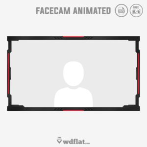 Ferocity - animated overlay facecam