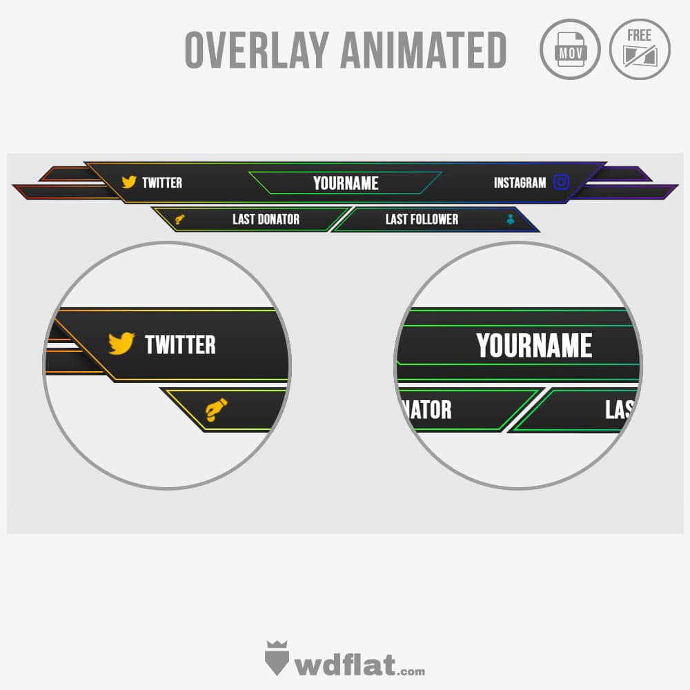 Finality animated overlay template