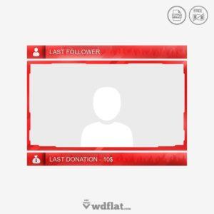 Fire Facecam - png border cam