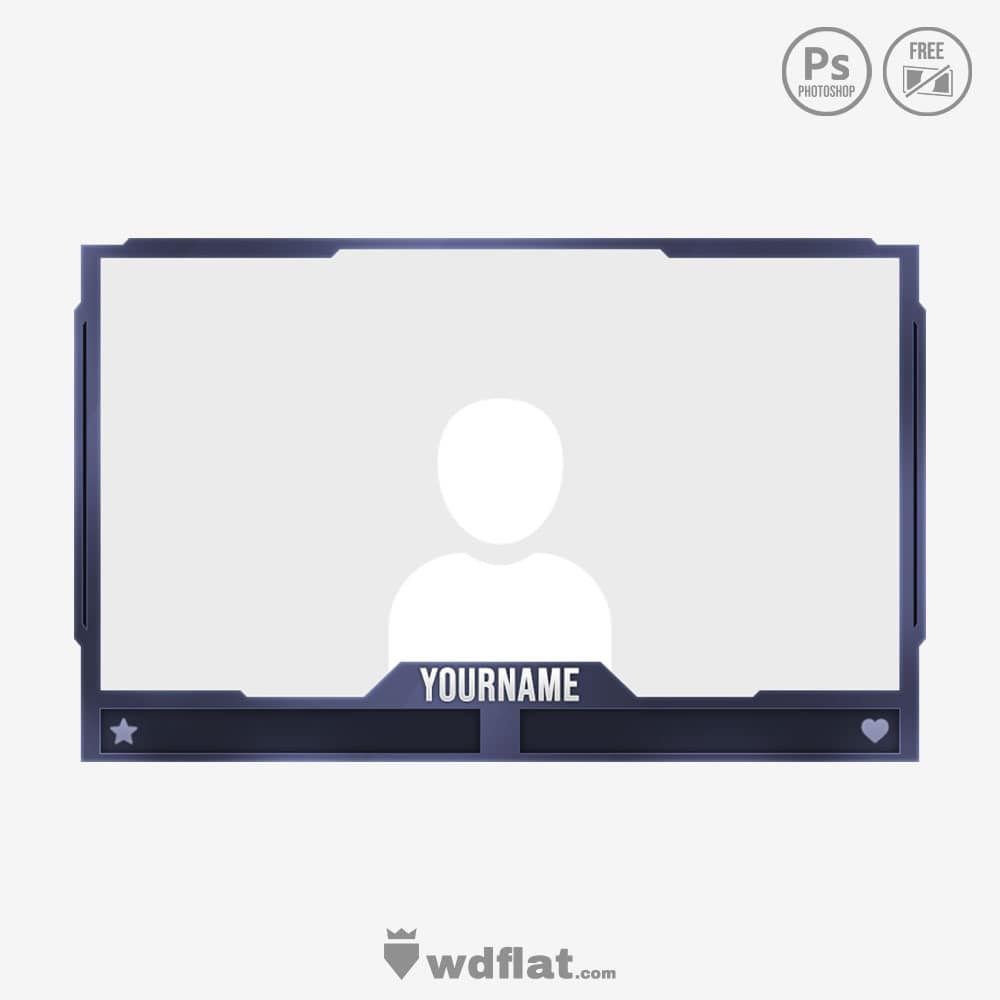 Fizical Cam_preview template facecam