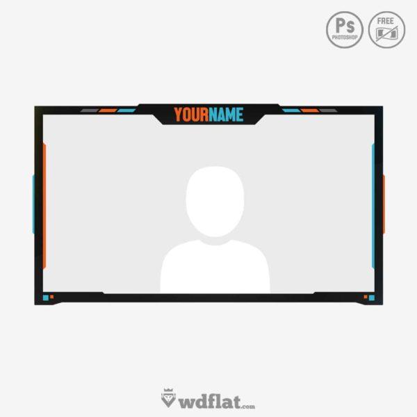 Flatcam – stream facecam template