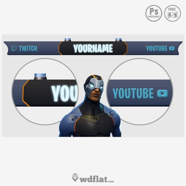 Fortnite Carbide – overlay
