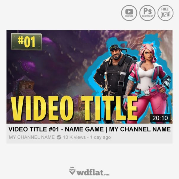 Fortnite Series – preview youtube thumbnail
