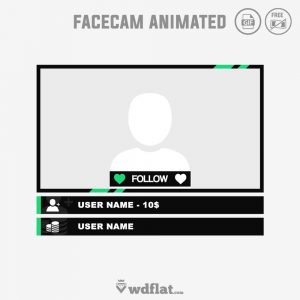 Free-Animated-preview-Twitch-Facecam template