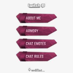 Futuristick - preview Twitch Panels