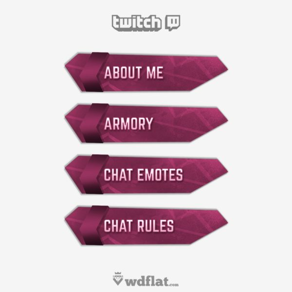 Futuristick – preview Twitch Panels