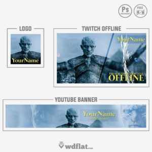 GOT White Walkers - preview logo and banner