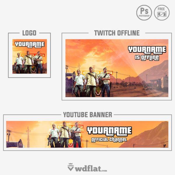 GTA V – Rebrand – preview set Gamer