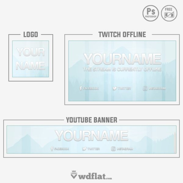 Glossy Nature – logo youtube