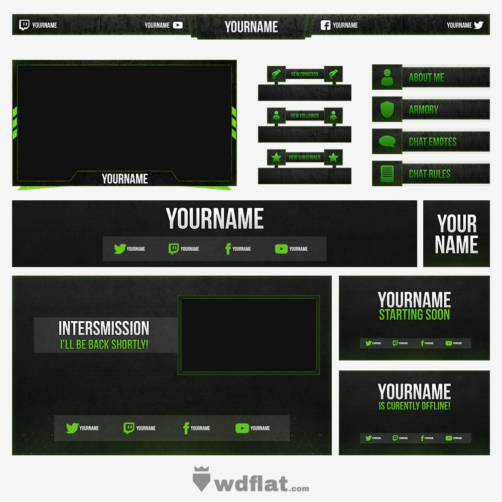 Green-Stone Stream Pack