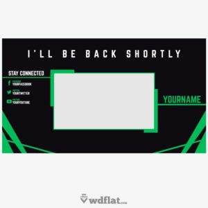 Greener - preview Twitch Template