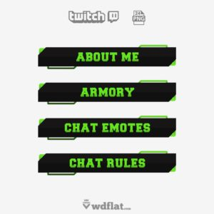 Greenstun - free twitch panels