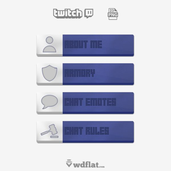 Grunge – preview Twitch Panels