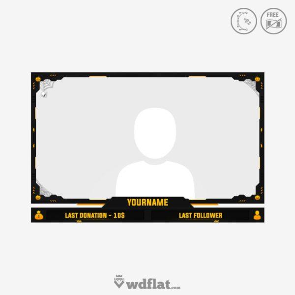 Halloween Cam – edit online facecam