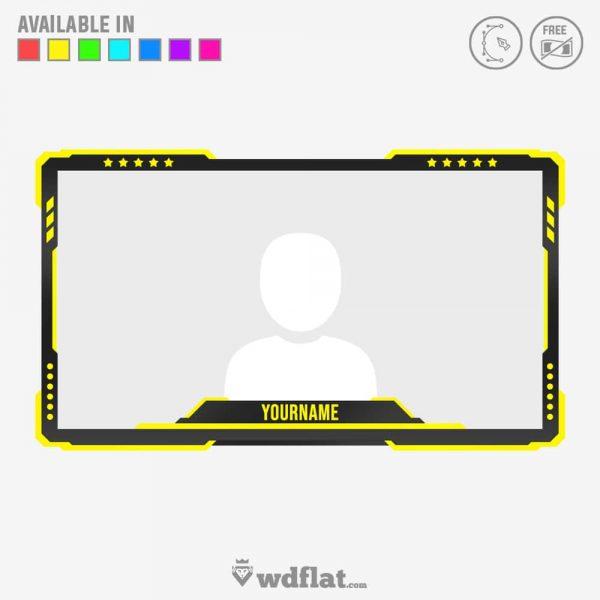 Honorfury – webcam border creator