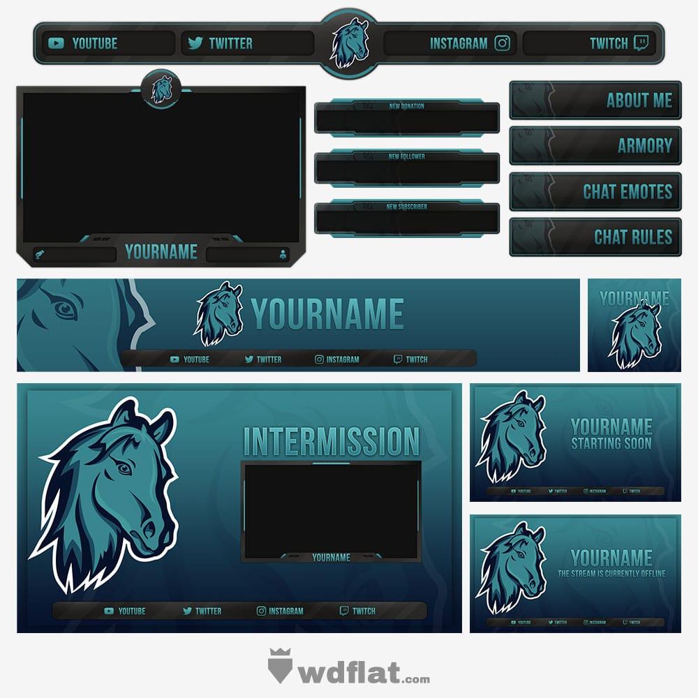 Horse-Esports stream pack