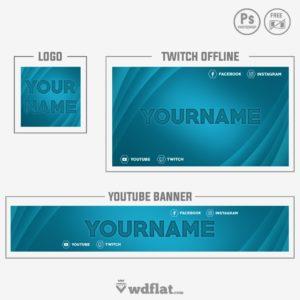 Light Blue - banner youtube