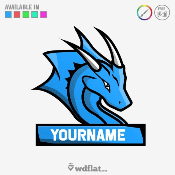 Little Dragon – Logo E-sports