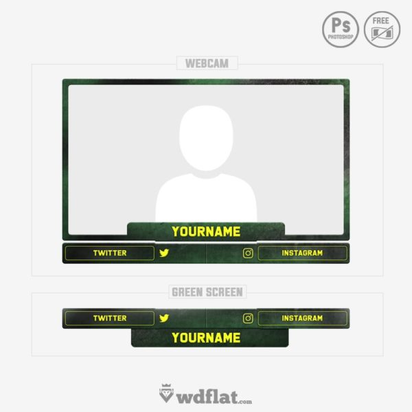 Malice – webcam overlay