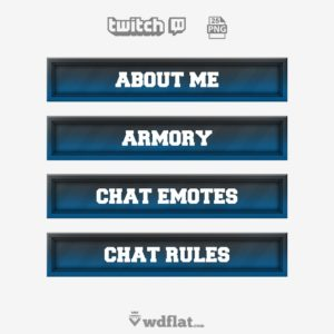 Mystery - png twitch panels