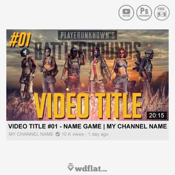 PUBG Thumbnail – preview