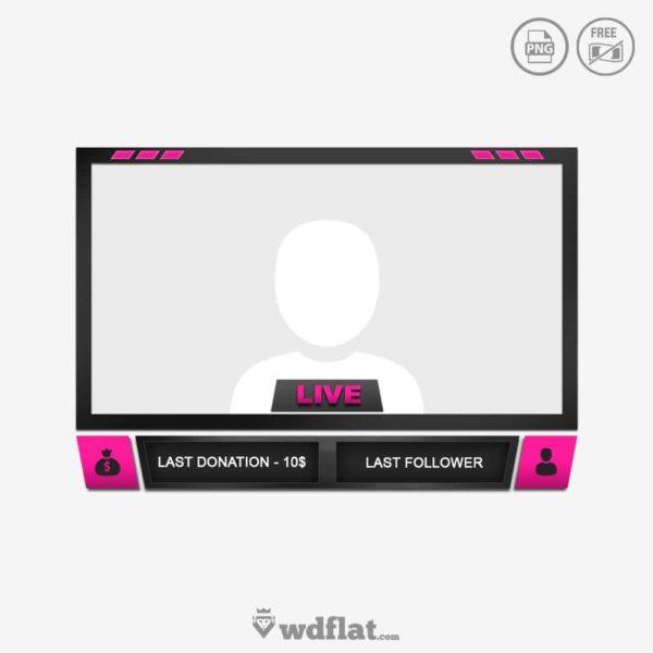 Pinky Cam – livestream border
