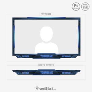 Protector's Destroyer - facecam green screen design