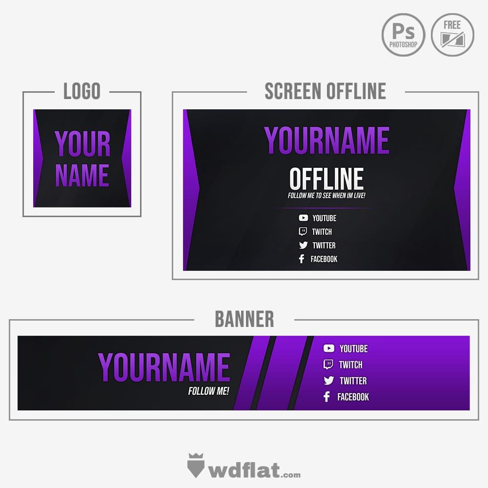 Purple Brand - free design youtube